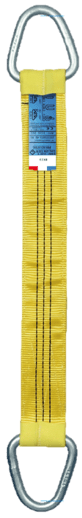 Élingue textile plate